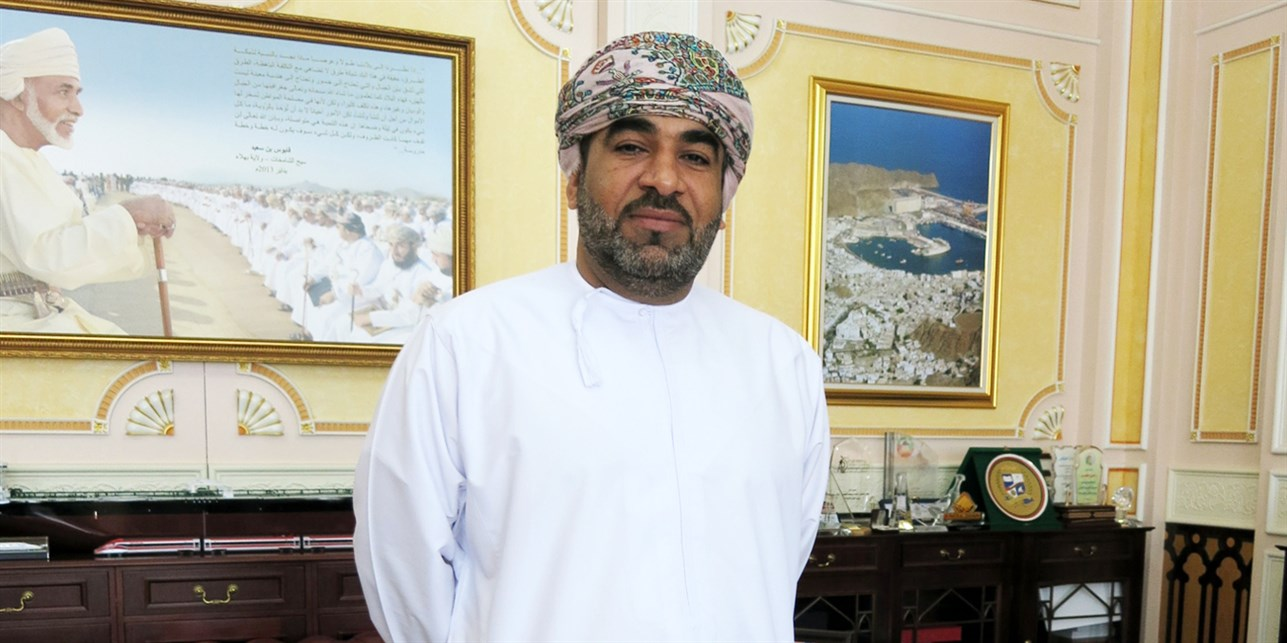 Interviewing Oman's Minister of Transportation