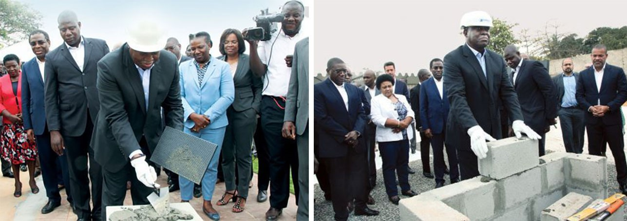 Ground Breaking Ceremonies of Hospitals Projects in Luanda