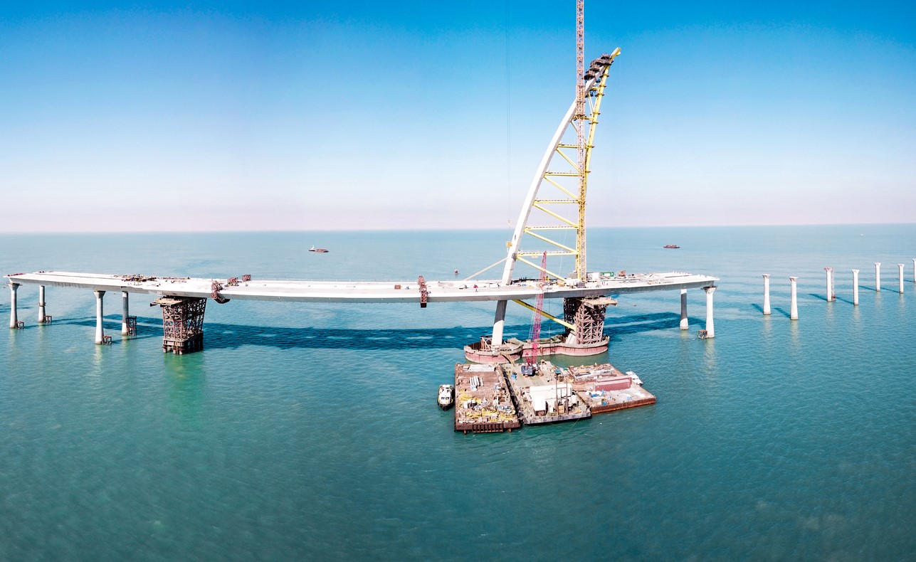 DarMagazine spotlights the Kuwait Causeway project in its newest issue