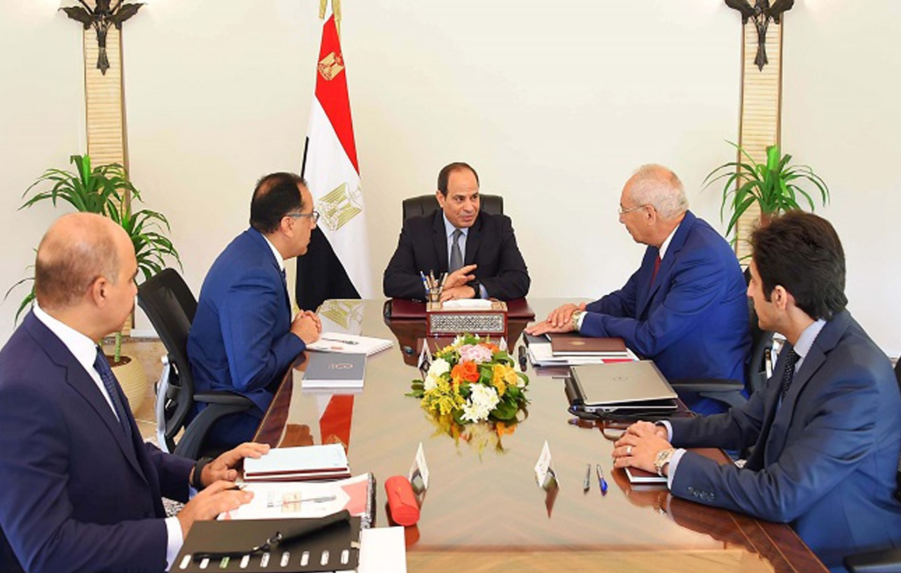 Dar Meets with President Sisi to Discuss Ongoing Development Plans at Egypt's New Administrative Capital