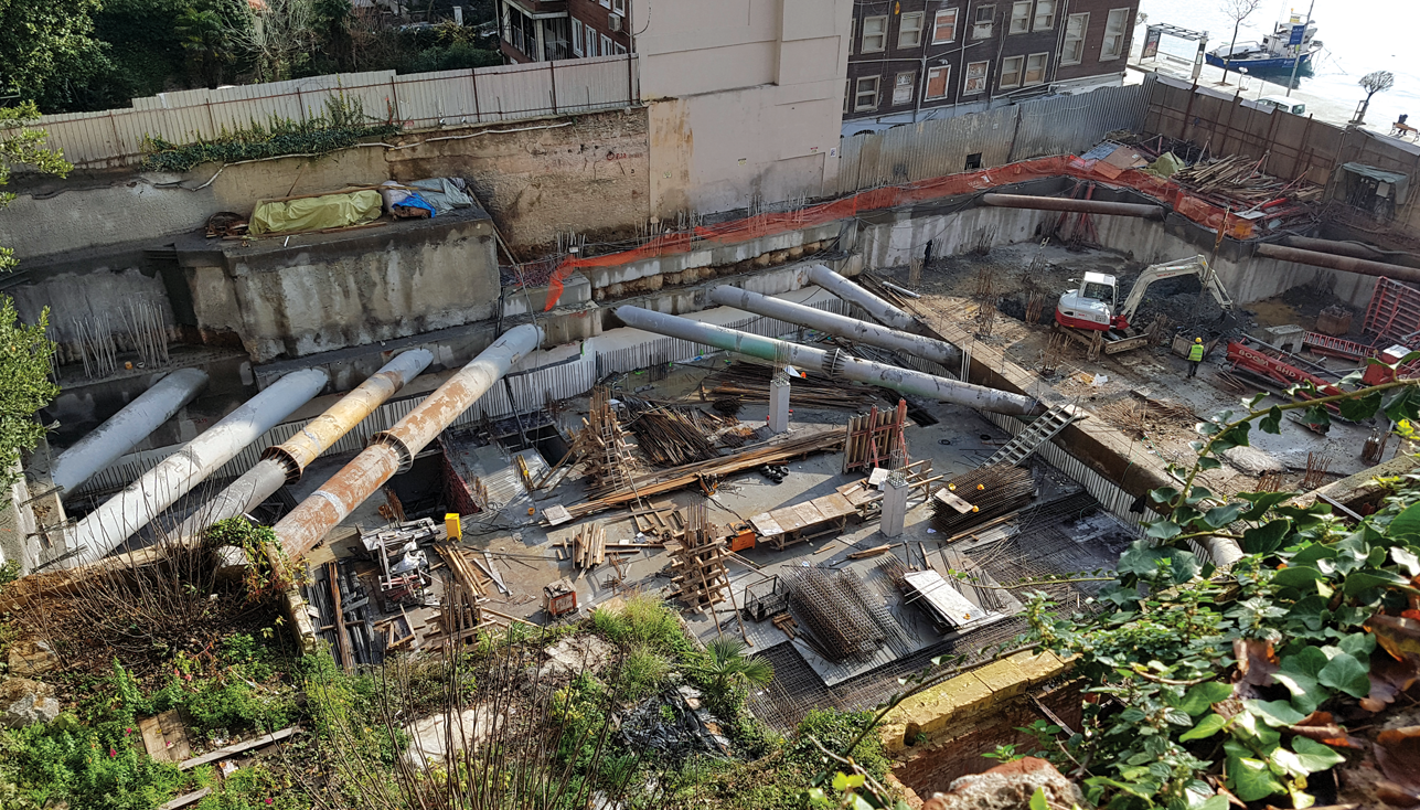 Geotechnical Challenges at the Bosporus