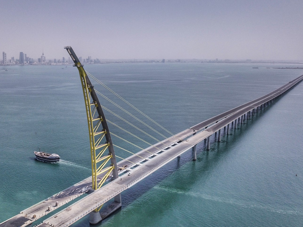 The dawn of a new future: Kuwait Causeway featured in Financial Times