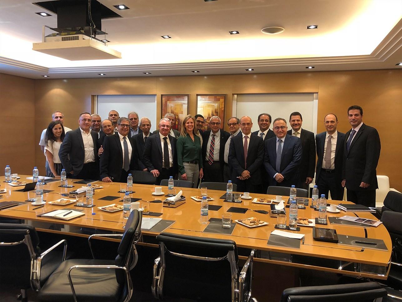 American Society of Civil Engineers President Kristina L. Swallow Visits Dar Premises
