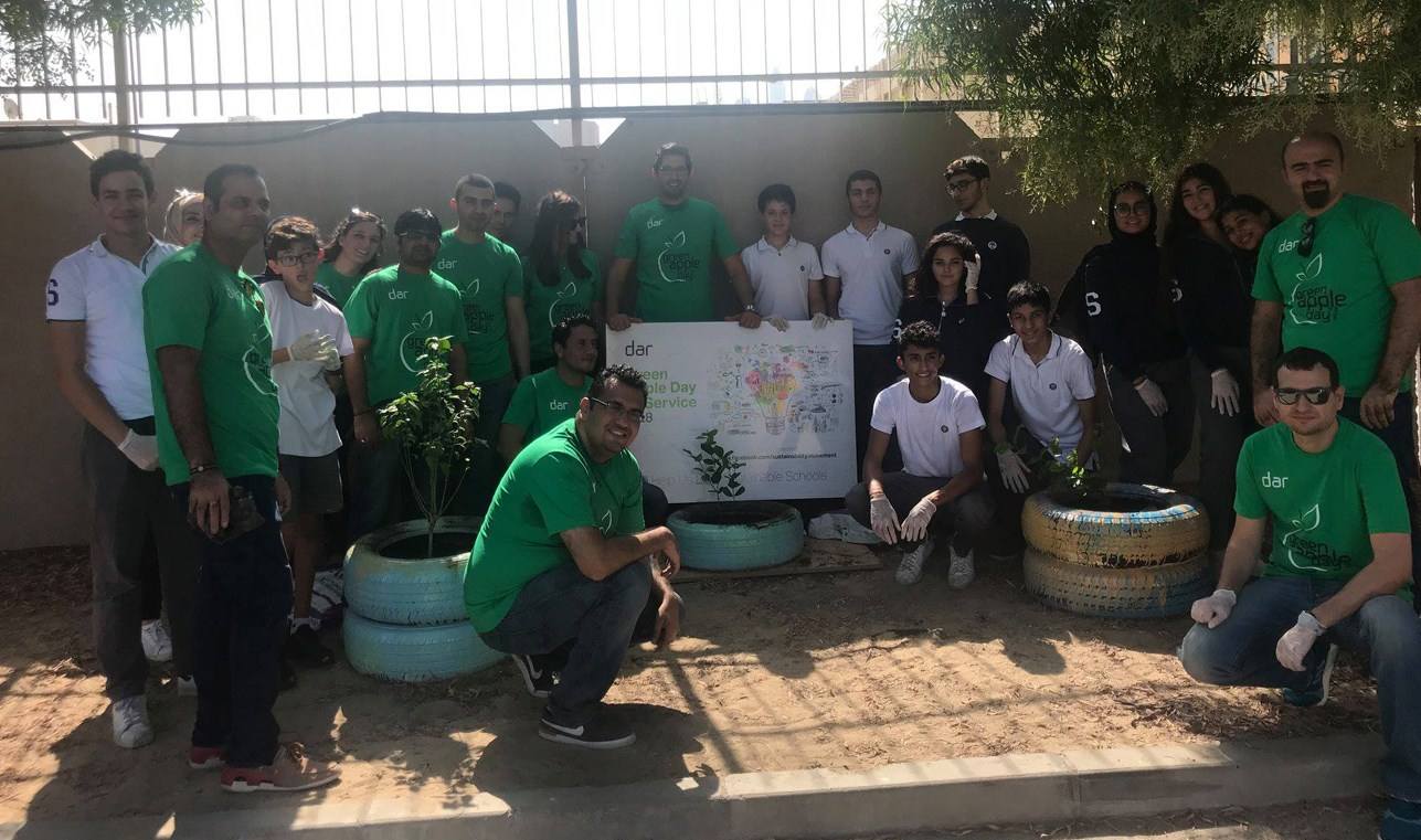 Dar's Green Apple Day of Service Praised by Leading UAE Environmental Council