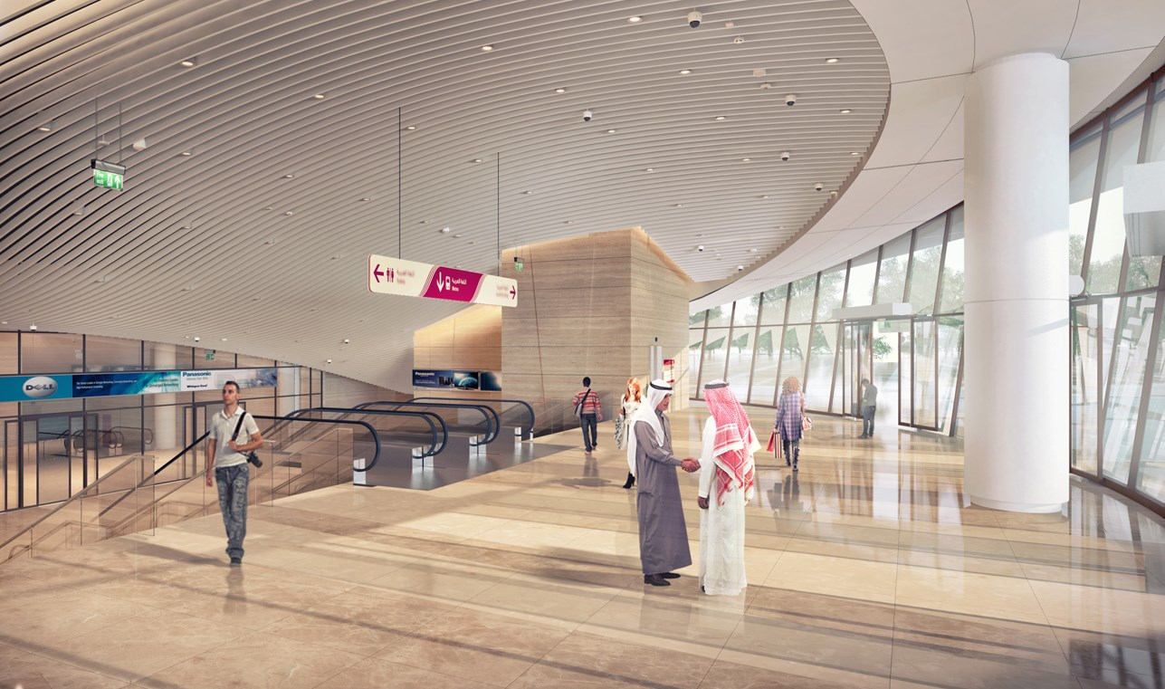 4 GSAS Stars for the Lusail Plaza's LRT Station