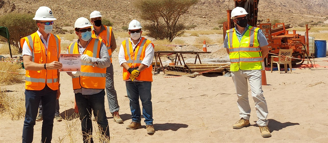 NEOM Recognises Dar for Exceptional Safety Culture on The Line