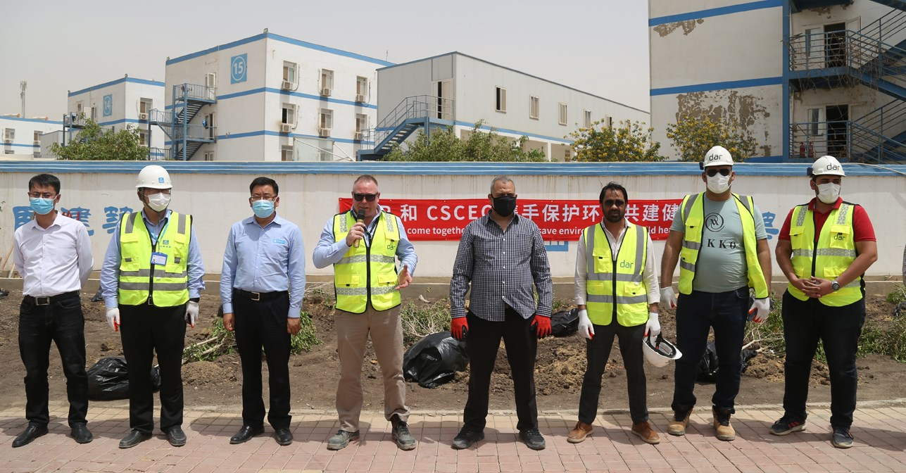 Site Celebrations for World Health and Safety at Work Day Continue for Dar's HSE Team