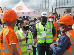 Mozambique's President Inaugurates Construction on Chimuara-Alto Molocue Power Transmission Line