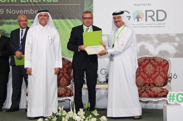 Dar Doha receives recognition at Green Expo Forum 2016