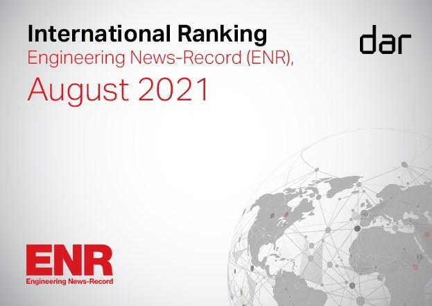 Dar Group Extends 15-year Run in ENR's Top 10 International Design Firms